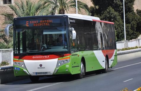 autobus elche