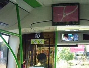 Imagen pantalla autobús